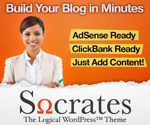 Socrates Premium WordPress Theme
